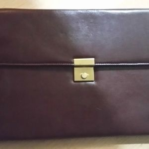 Other - Leather Sales rep/ business slim briefcase